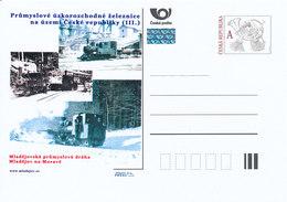 Rep. Ceca / Cart. Postali (Pre2012/34) Ferrovie Industriali A Scartamento Ridotto (III.) - Mladejov Via Industriale (1) - Fabbriche E Imprese