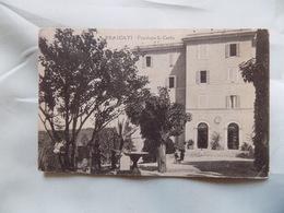 VINTAGE ITALY: FRASCATI Pensione S Carlo B&w 1925 - Italia