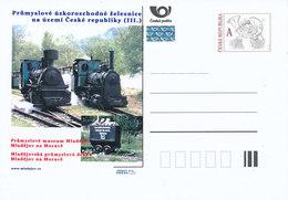 Rep. Ceca / Cart. Postali (Pre2012/35) Ferrovie Industriali A Scartamento Ridotto (III.) - Mladejov Via Industriale (2) - Altri