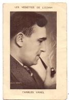 Kalender Calendrier - Vedette Charles Vanel - Cinéma Familia Calais - 1939 - Calendriers