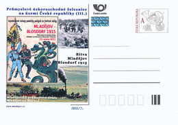 Rep. Ceca / Cart. Postali (Pre2012/36) Ferrovie Industriali A Scartamento Ridotto (III.) - Mladejov Via Industriale (3) - Altri