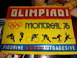 Olimpiadi Montreal 76.bustina Chiusa Figurine Edis - Other