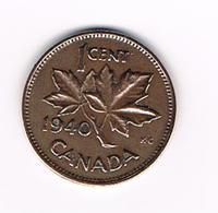 =&    CANADA  1 CENT 1940 - Canada