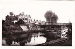 CPSM LA BASSEE 59 - Gare Et Pont Provisoire - Autres Communes