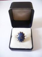 Ring Mit Großem Lapislazuli   (552) - Ringe