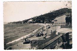 LE LAVANDOU  83  La Plage D' Aiguebelle En 1950 - Le Lavandou