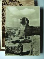 Egypte Egypt Gizeh Spinx  Stempel J V Oldebarnevelt - Gizeh