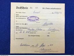 Luxembourg - Eischen - Deckschein Nr. 68 - Bulle Emil - 04.05.1944 - Autres