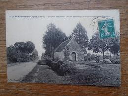 Saint-étienne-en-coglès , Chapelle St-eustache ( Lieu De Pèlerinage ) Et La Grande Route De Fougères - France