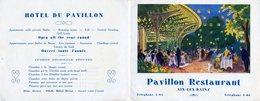 Hotel Du Pavillon Aix Les Bains - Publicités