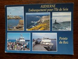 L10/181 Audierne. Entre Audierne Et L'Ile De Sein, Le Passage Dans Les Courants Du Raz De Sein - Audierne