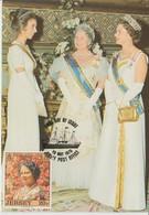 Jersey Carte Maximum 1975 Reine-mère 112 - Jersey