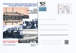 Rep. Ceca / Cart. Postali (Pre2012/40) Ferrovia A Scartamento Ridotto Industr-ferrovia Di Barbabietola Da Zucchero Kolin - Vegetazione