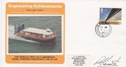 ENGINEERING ACHIEVEMENTS FDC - 1952-.... (Elisabetta II)