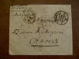 Omslag 1918  Vanuit Polen  Naar ANVERS - 1919-1939 République