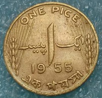 Pakistan 1 Pice, 1955 - Pakistan
