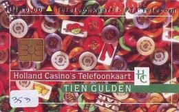 NEDERLAND CHIP TELEFOONKAART CRD-353 * Holland Casino *  Telecarte A PUCE PAYS-BAS ONGEBRUIKT  MINT - Privé