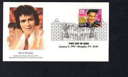 USA 1993 FDC SCOTT  2721 ELVIS PRESLEY - Covers & Documents