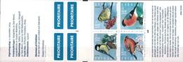 MDB-BK9-074 MINT ¤ SVERIGE  2004 BOOKLET ¤ OISEAUX - BIRDS OF THE WORLD - PAJAROS - VOGELS - VÖGEL - - Zangvogels