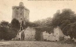 D77 - Blandy Les Tours - Ruines Du Château - Le Donjon  : Achat Immédiat - Autres Communes