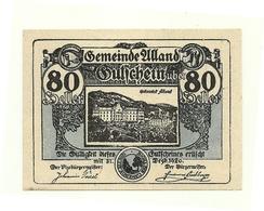 1920 - Austria - Alland Notgeld N61, - Austria