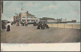 Steel Pier, Atlantic City, New Jersey, C.1905 - Tuck's U/B Postcard - Atlantic City