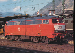 DB, Dieselhydraulic Locomotive For Multiple Purpose 218 368-9 - Trains