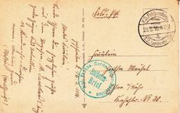 CP Obl K.D Feldpostexp 12. Landwehr - Div Du 20.3.16 + Cachet Kgl Preuss. Garde Jäger - Bataillon * Pour Essen - Poststempel (Briefe)