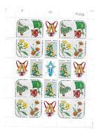 Kuba  1969  Weihnachten - Blühende Pflanzen Mi 1541 - 1545  Bogen  Postfrisch - Kuba