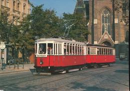 VEF ,restored Tram Car Type K, N°2447 - Eisenbahnen