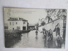 Rue Du  Lion D Or A  Malzeville  . Innondations 1910 - Autres Communes