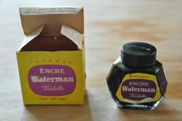 Bouteille D'encre Violette Waterman - Inkwells
