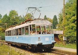 "DB , Electric Ralicar For Special Service "" Glass - Train ) - Eisenbahnen"