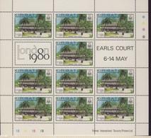 KIRIBATI 1980 FEUILLET LONDON'80 YVERT  N°28/31 NEUF MNH** - Kiribati (1979-...)