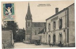 Combreux  Café Restaurant Dubar  Depot De Pain Timbre Tuberculose   Lenormand - France