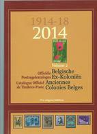 Anciennes Colonies Belges  édition De 2014 En Parfait état (sans Marques) (format A4) - Catalogues De Cotation