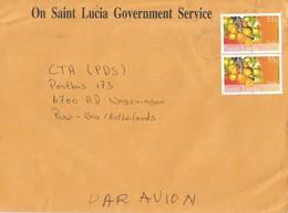 St Lucia 2006 Castries Hog Plum Fruit Spondias Mombin Cover - St.Lucia (1979-...)