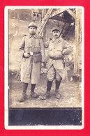 Milit-694Ph67  Carte Photo, Militaires Col N° 144 Et 155, Cpa - Sin Clasificación