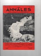 LES ANNALES 12 1966 -DE SARAH BERNHARDT A ORSON WELLES - JEAN ROSTAND - MOZART ET FAURE - - Periódicos