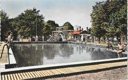 Sissonne (Aisne) - Le Camp (camping), La Piscine - Collection Nardon - Carte Colorisée Non Circulée - Other Municipalities
