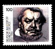 Allemagne Rep.Fed. 1993  Mi.:nr.1689 Geburtstag Heinrich George  Neuf Sans Charniere / Mnh / Postfris - Neufs