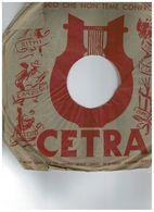 CETRA 78 NILLA PIZZI - GINO LATILLA M.O ANGELINI DC5633 - 78 Rpm - Gramophone Records