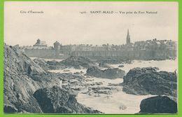 COTE D'EMERAUDE - SAINT-MALO - Vue Prise Du Fort National - Saint Malo