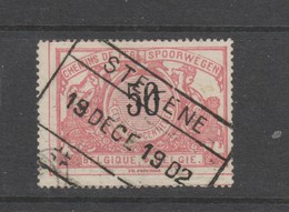 COB 21 Oblitéré STEKENE - 1895-1913