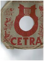 CETRA 78 TONINA TORRIELLI - M.O ANGELINI AC3320 - 78 Rpm - Gramophone Records
