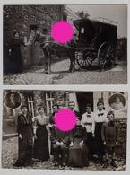 à Localiser Réunion De 2 Cartes Photo / Photographe Pierre Rahier SOUMAGNE  Vers 1915 / 20 - Soumagne