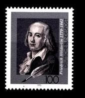 Allemagne Rep.Fed. 1993  Mi.:nr.1681 Todestag Friedrich Hölderlin  Neuf Sans Charniere / Mnh / Postfris - Neufs