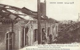 62 - Arras - Ruines De L'Usine Electrique Du Chemin De Fer Bombardée Par Les Allemands - Arras