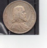 Hongrie - 5 Pengo Année 1938 En Argent / Silver - Ungarn