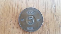 5 ORE  1964 - SVERIGE - SWEDEN - VF+ - Suecia
